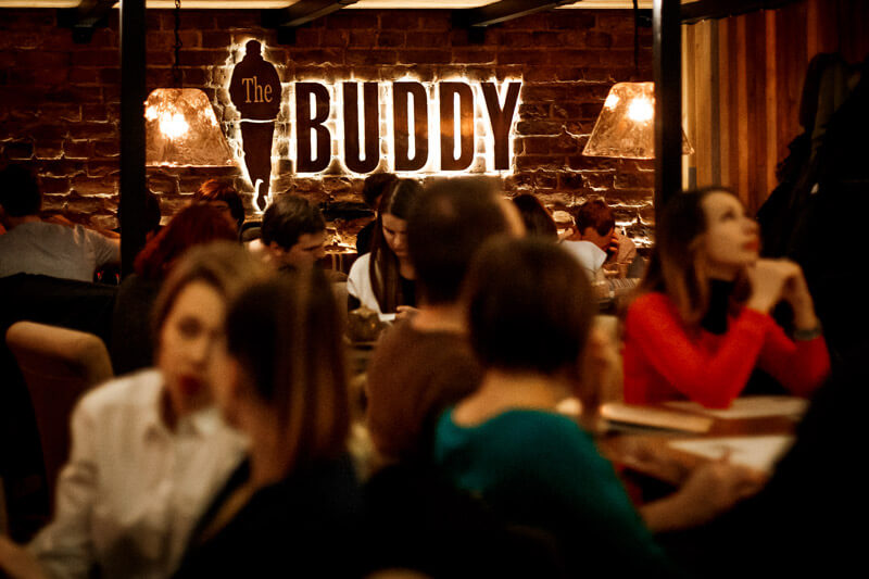 The Buddy cafe — 3 года!