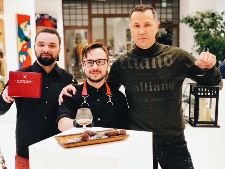 Команда The Buddy Cafe на выставке Winter`s Tale