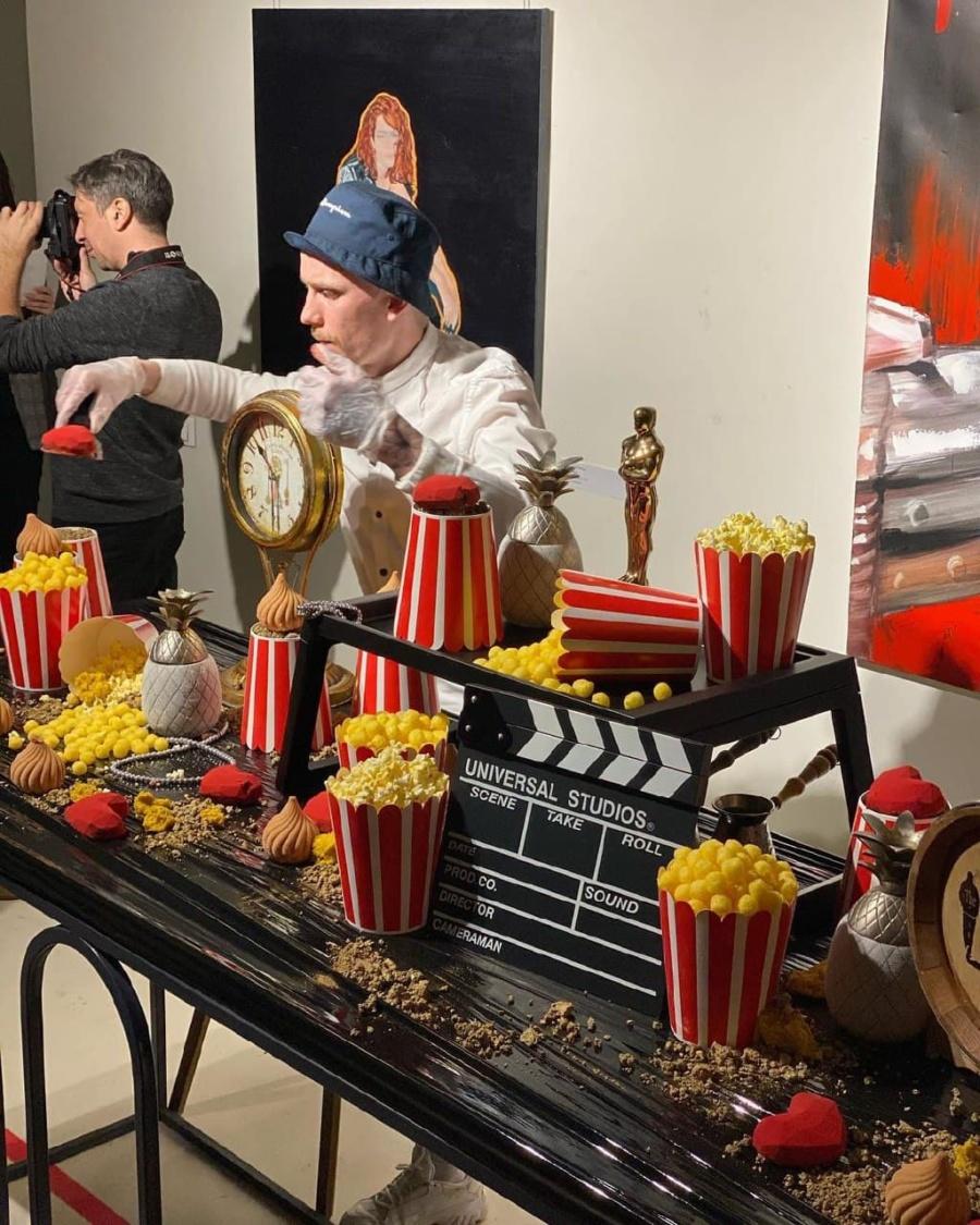 the Buddy Cafe на выставке от Мариинского театра